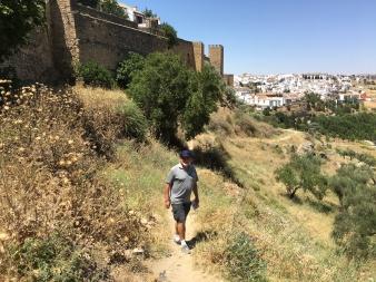 Exploring the Walls of Ronda