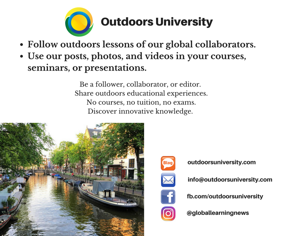 Outdoors University Poster 2