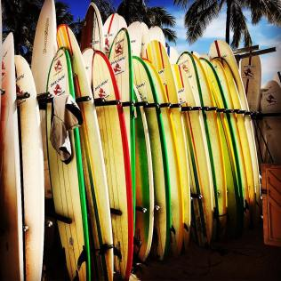 Surf's up in Waikiki