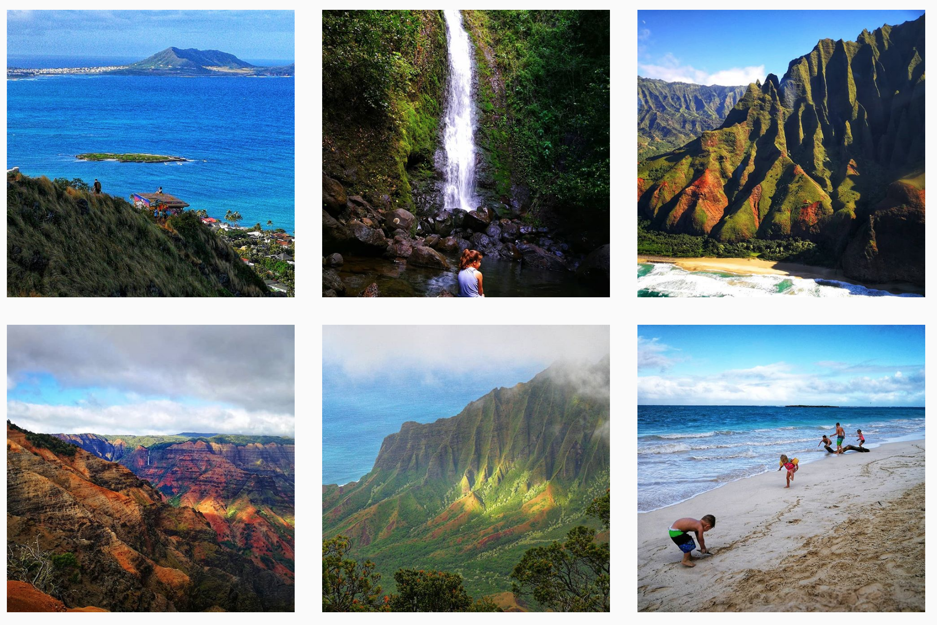 Beaches, Canyons and Mountains / Hiking in Hawaii / Dr. Jeanne Bayaca