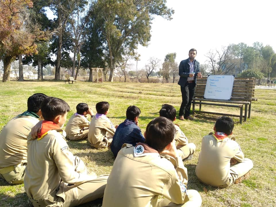 Final Paper Preparation for Scout Camp / Outdoors Classrooms / AIM Scouts Islamabad / Scouts Pakistan