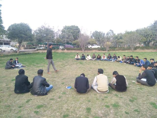Weekly General Meeting of Agrivarsity Scouts Group, University of Agriculture, Faisalabad, Pakistan / Scouts Pakistan