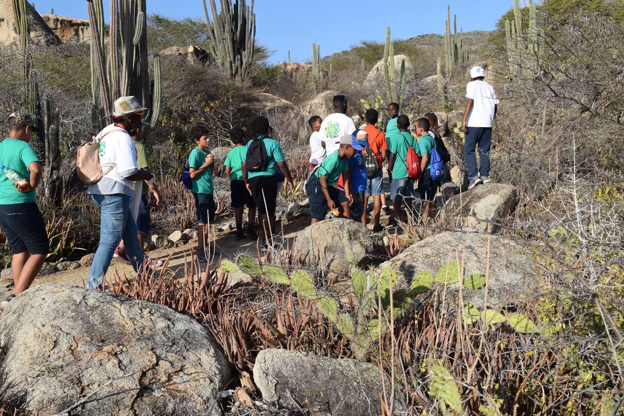 Educational Hike in Arikok National Park / Grupo Scout St. Paulus-Michael / Scouts Aruba
