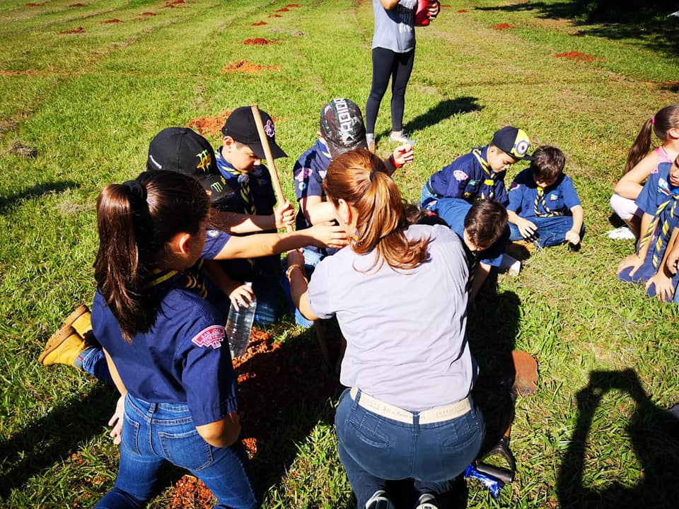 Planting Trees in Paraguay / #ConectateAlPlaneta / Scouts Paraguay