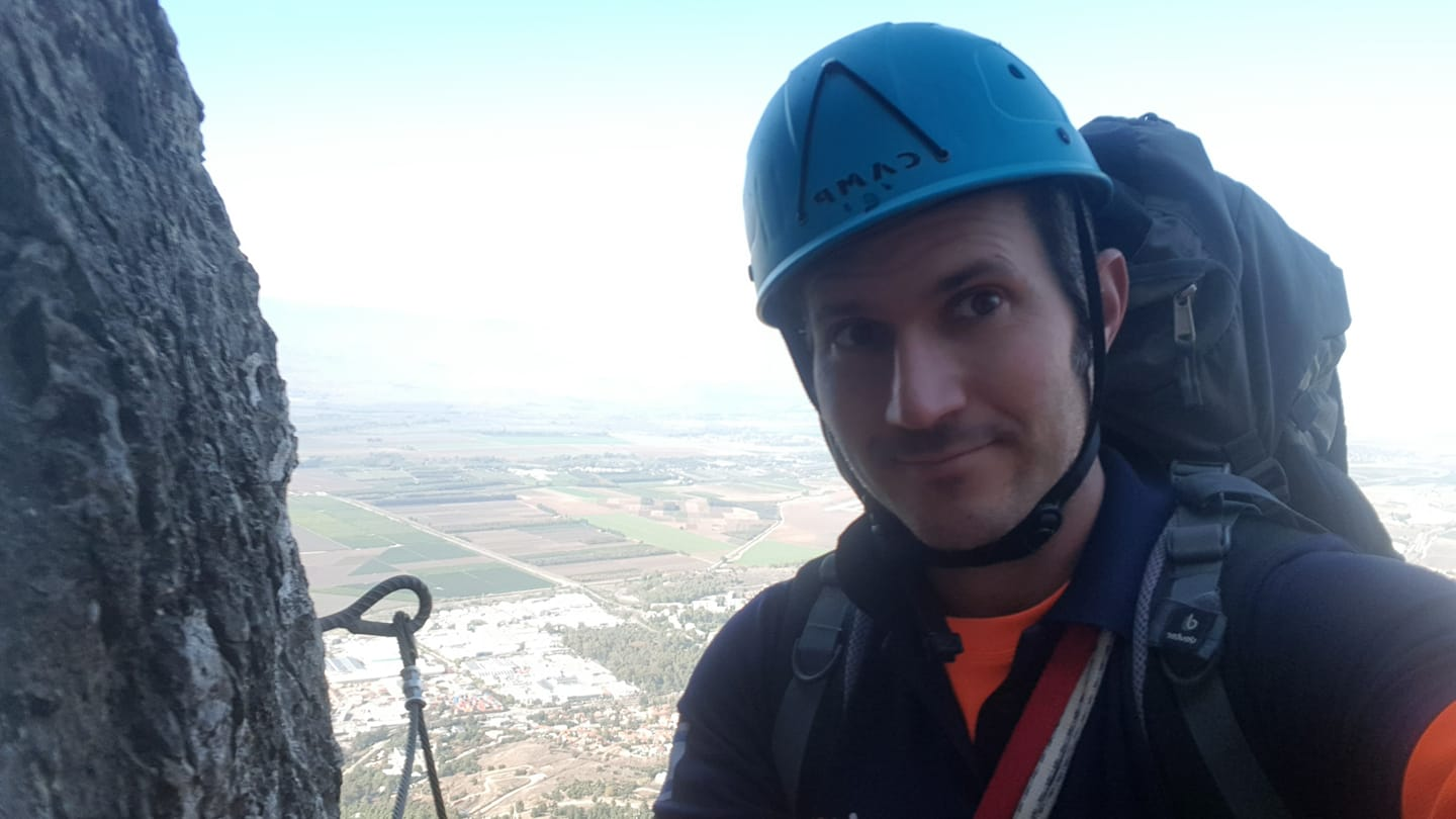 Rappelling, Climbing, and Eco-Therapy in Israel / Jesse Paquin